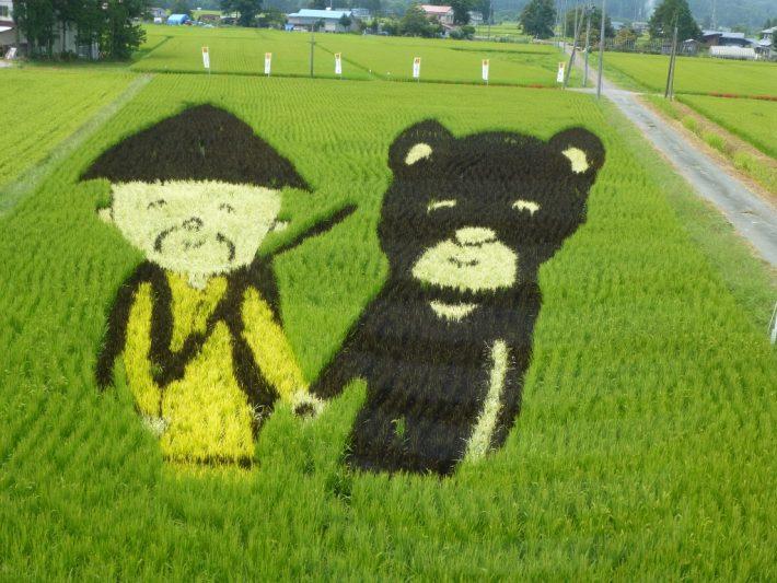 熊とまたぎ
