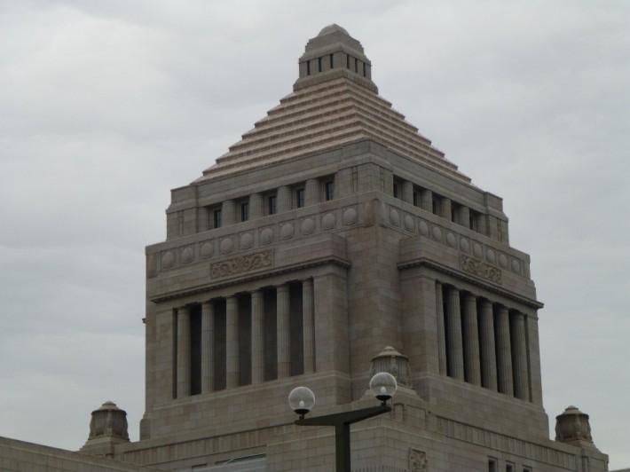 国会議事堂 屋根